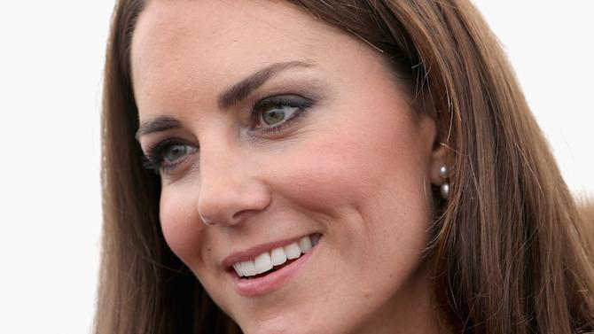 FILE - In this Thursday, July 26, 2012, file photo, Britain's Kate, Duchess of Cambridge attends a reception as she visits Bacon's College in  London.  In Google's 12th annual roundup of global trending searches, Kate Middleton was ranked sixth.(AP Photo/Chris Jackson, file)