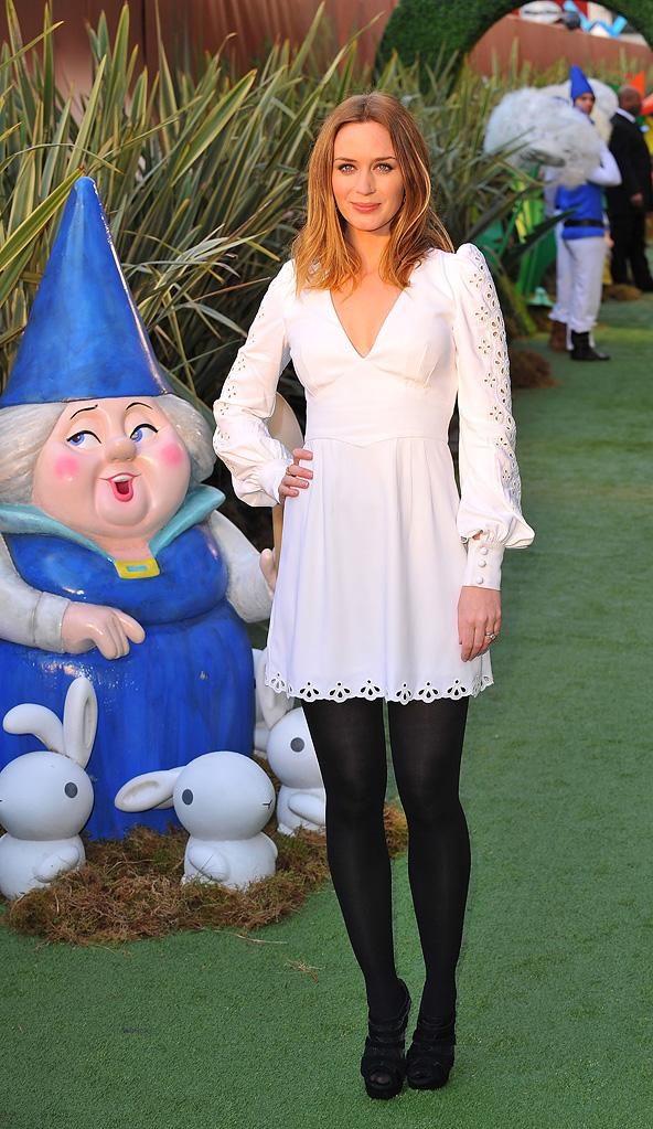 Gnomeo and Juliet UK Premiere 2011 Emily Blunt