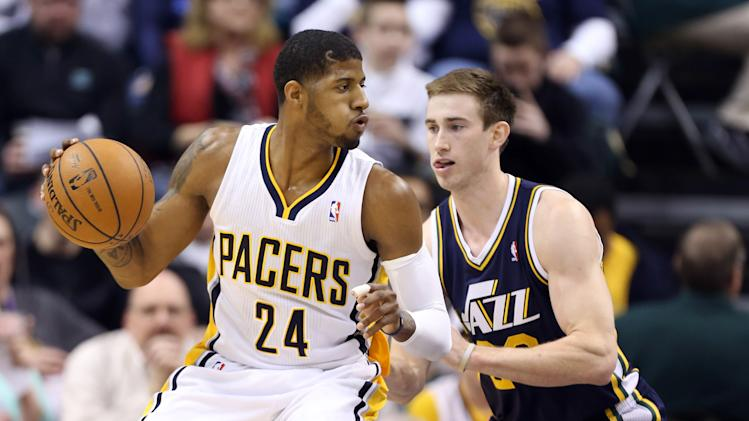 NBA: Utah Jazz at Indiana Pacers