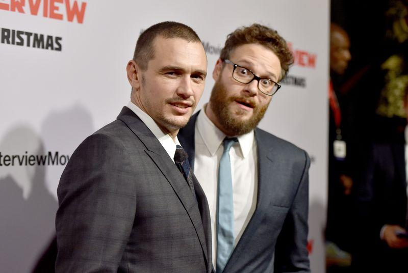 Seth Rogen and James Franco livetweet The Interview just three days after release