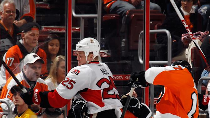 Ottawa Senators v Philadelphia Flyers