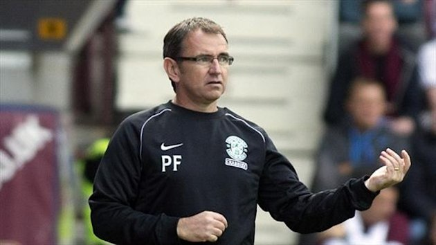 Pat Fenlon's Hibernian have scored one goal in four outings on their own patch