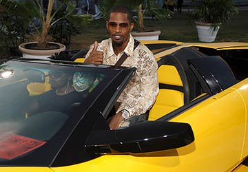 Jamie Foxx MTV Video Music Awards Arrivals - 8/28/2005