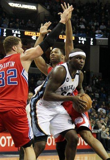 Clippers win without CP3, beat Grizzlies 99-73