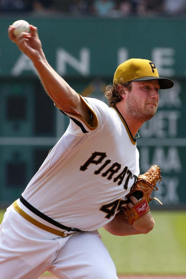 Cole posts majors-leading 12th win, Pirates beat Indians