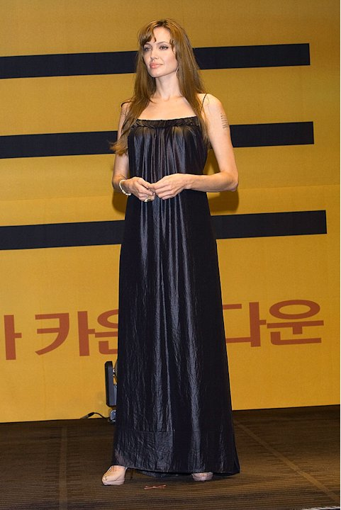 Jolie Angelina Korea Salt Conf