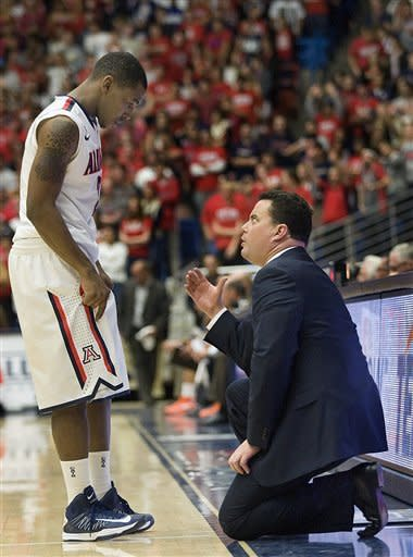 No. 12 Arizona beats UTEP 72-51