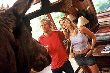 Owen Wilson and Sara Foster in Warner Bros. The Big Bounce