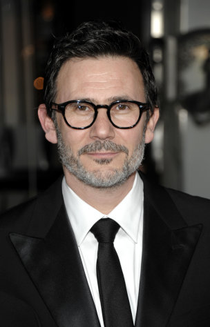 Director Michel Hazanavicius arrives at the 64th Annual Directors Guild of America Awards in Los Angeles on Saturday, Jan. 28, 2012. (AP Photo/Dan Steinberg)