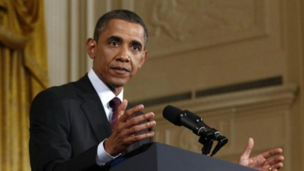 The Many Images From Obama's Testy Press Conference