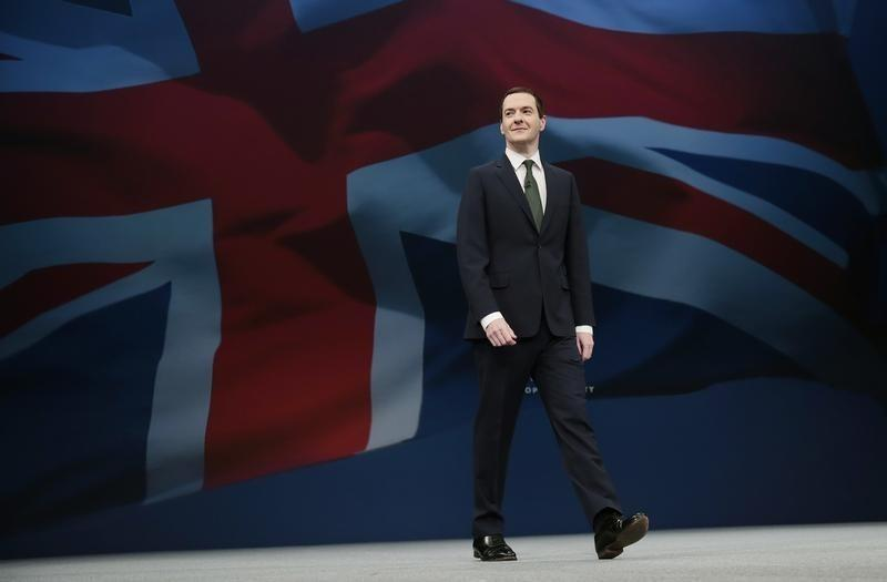 Osborne sees global risks rising, but sanguine on China