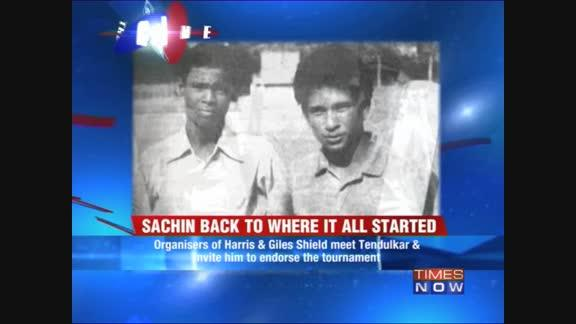 Sachin to endorse Harris Shield?