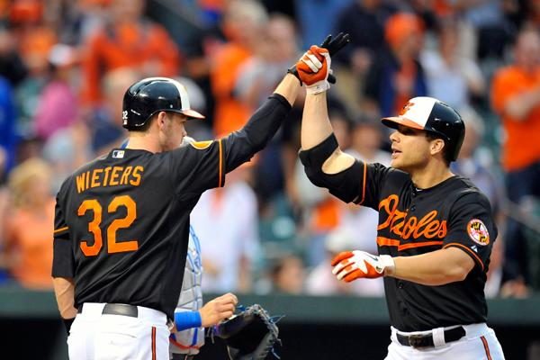 Is this the finale for Davis, Wieters in Baltimore?