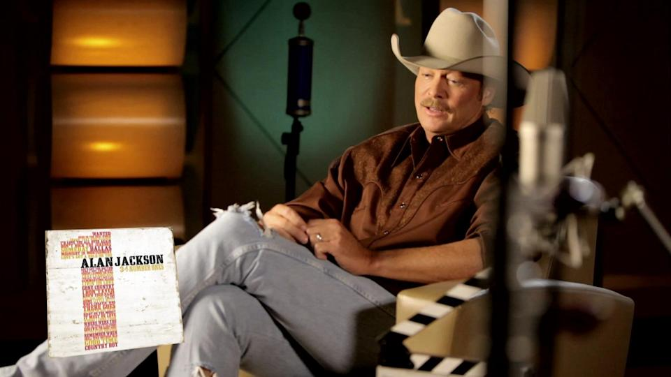 "Alan Jackson Interview - ""Where Were You (When The World Stopped Turning)"" - 34 Number Ones"