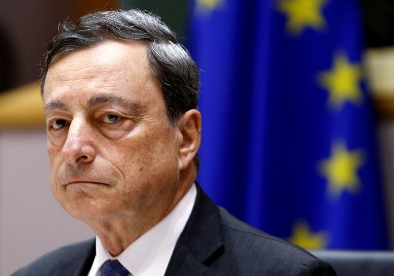 Draghi sees Brexit vote hitting euro zone growth by up to 0.5 percent over 3 years - official