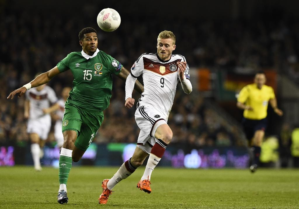 Long saves Ireland's hopes as Germany stunned