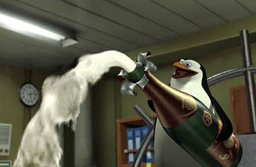 Tom McGrath voices Skipper, the head penguin, in Dreamworks' Madagascar
