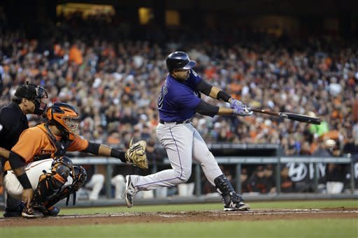 Rockies beat Lincecum, Giants 3-0 behind Chatwood