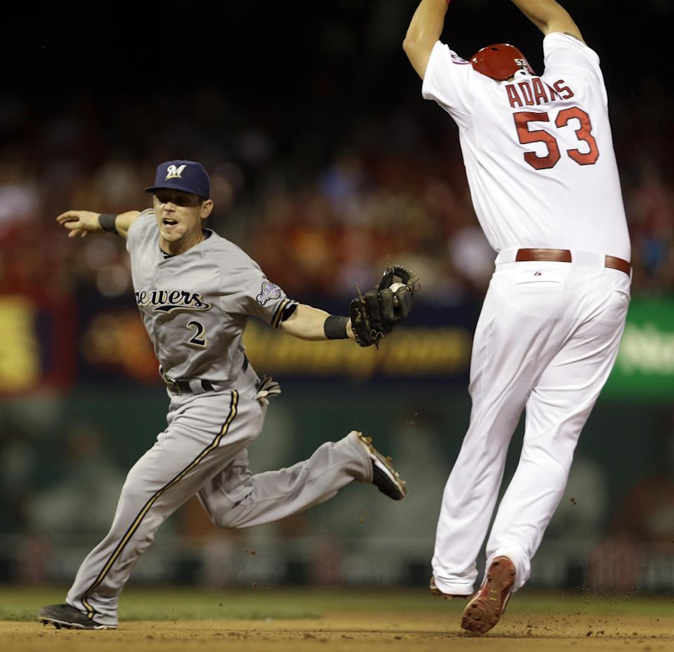 Brewers win 5-3 to end Cardinals' 5-game streak
