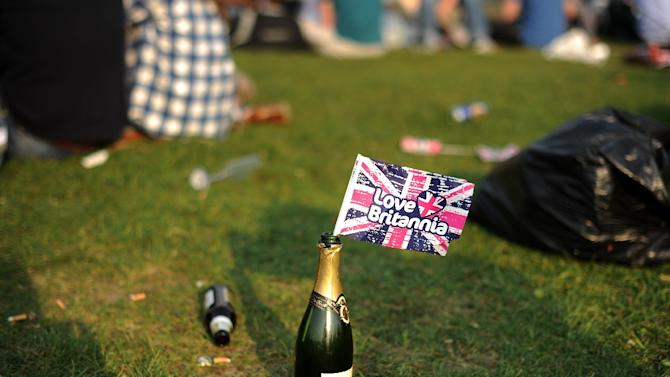It has become customary for fans at Lord's Cricket Ground in London to aim corks onto the pitch when they open their champagne
