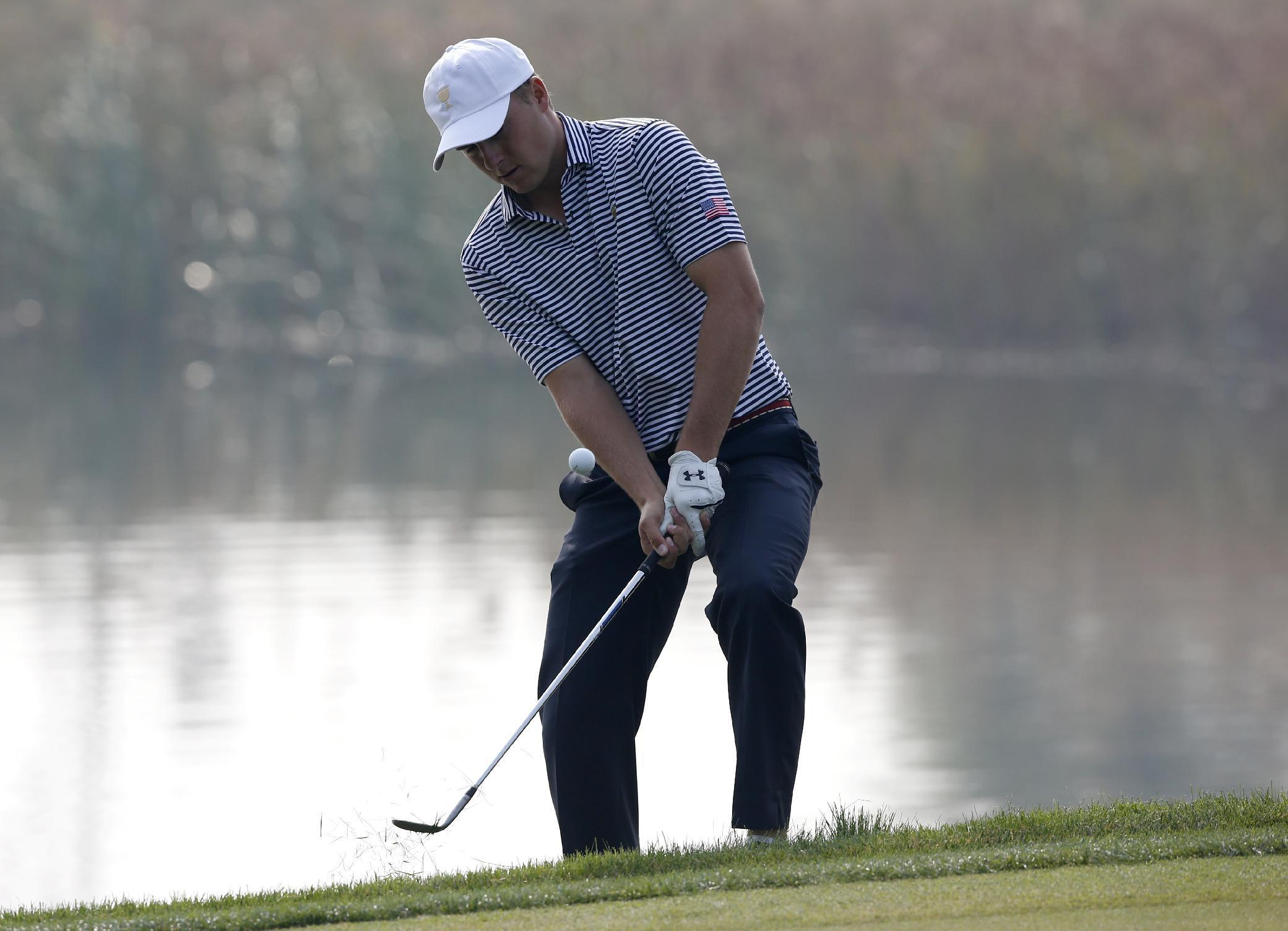 Spieth, Dustin Johnson partners in Presidents Cup