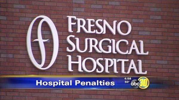 Two Valley hospitals face fines for improper procedures