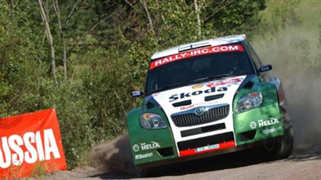 IRC 2009 Rally Russia Skoda Fabia S2000