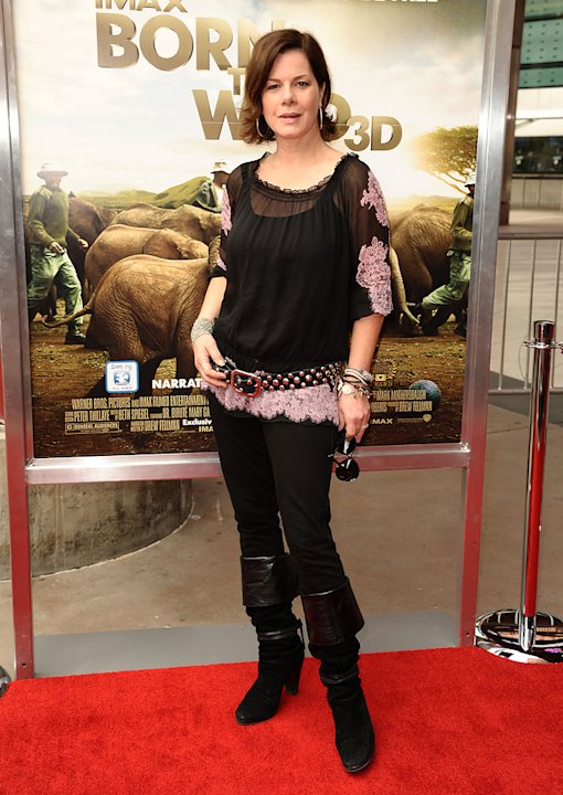 Born to Be Wild 3D LA Premiere 2011 Marcia Gay Harden