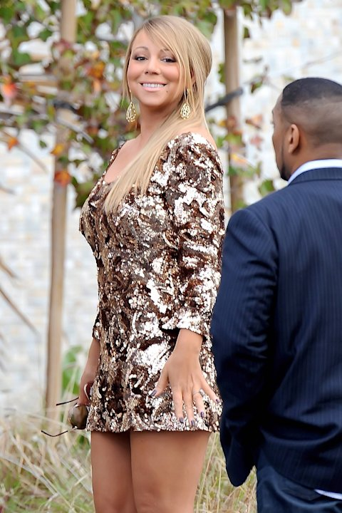 Mariah Careylooking glamorous as she arrives to film an episode of 'American Idol' during the show's Hollywood weekLos Angeles, California - 13.12.12Credit: (Mandatory): Cousart-Rayne/JFXi