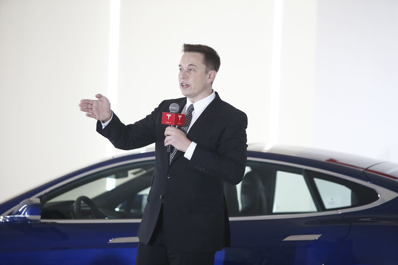 Elon Musk hasn't decided how much of the Model 3 to show next month