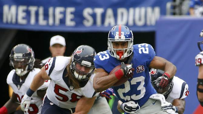 Turnovers, Jennings, Manning lead Giants to win