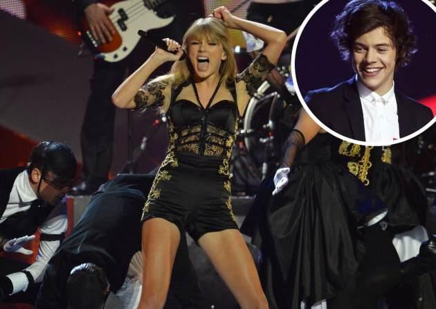 Taylor Swift / Harry Styles -- Getty Premium
