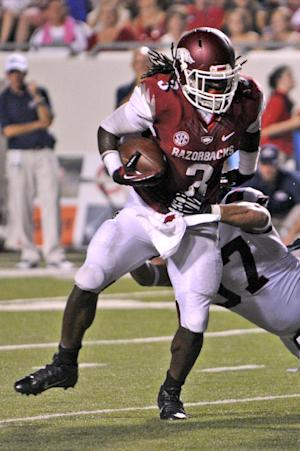 RB Alex Collins enjoying early success at Arkansas