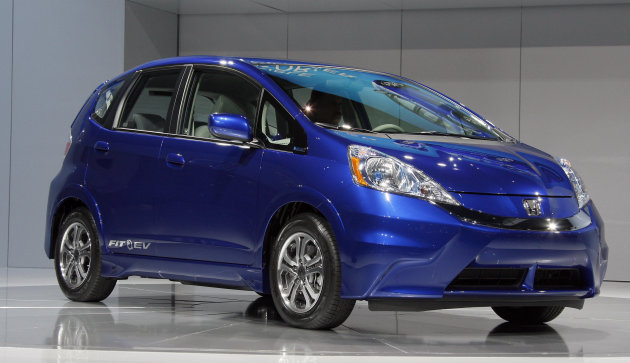 The Honda Fit EV boasts a range of 123 miles.