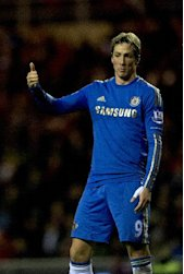 Fernando Torres hit his fifth goal in three games in Chelsea's victory