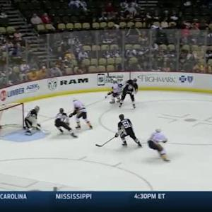 Marc-Andre Fleury Save on Calle Jarnkrok (17:19/3rd)