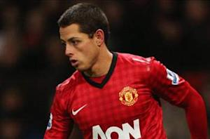 'I want to start more' - Chicharito bemoans reduced role at Manchester United
