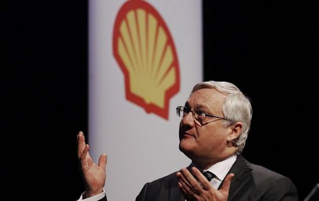 Shell CEO Peter Voser