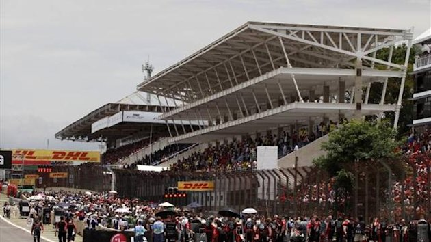 Brazilian Grand Prix grid