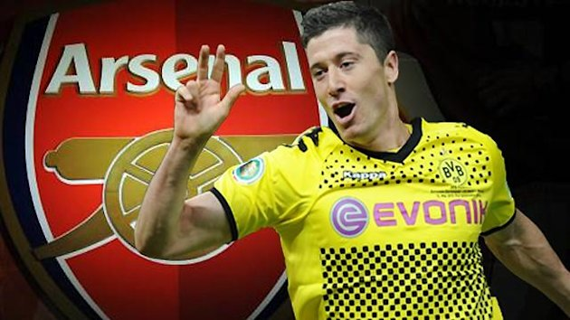 Lewandowski Arsenal