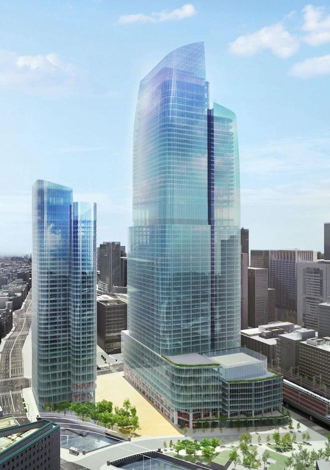 Development Watch: Japan's Tallest Skyscraper, a 61-Story Tower, Proposed for Downtown Tokyo