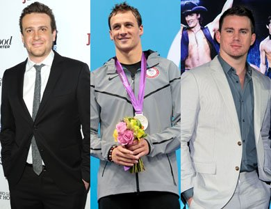 Jason Segel / Channing Tatum / Ryan Lochte