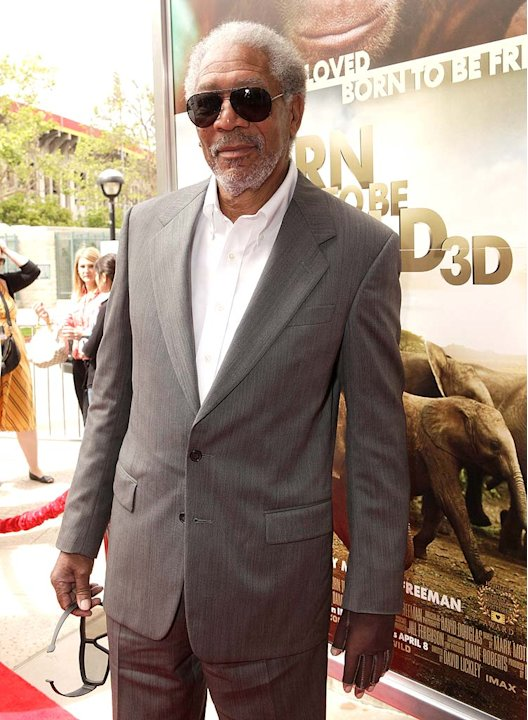 Morgan Freeman Born Wild Pr