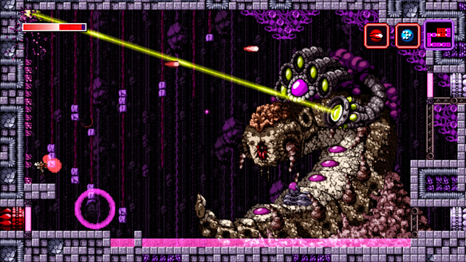 Axiom Verge feels like a brand new Metroid on PS4
