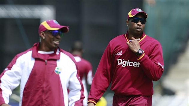 Kieron Pollard's unbeaten 45 helped West Indies to victory