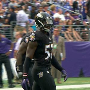 Baltimore Ravens rookie linebacker C.J. Mosley impresses in Week 4
