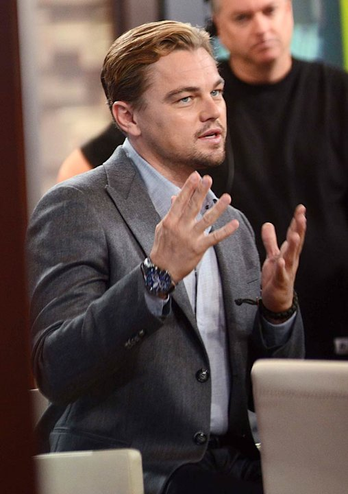Leonardo Dicaprio Good Morning America