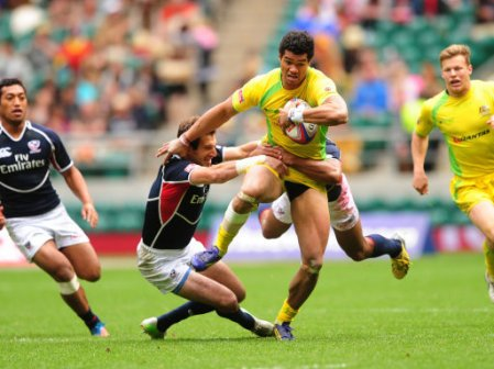 Rugby Union - Marriott London Sevens - Day One - Twickenham
