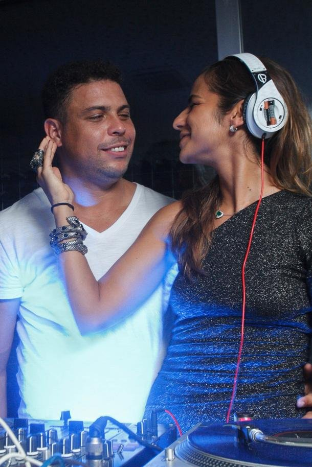 Morais is also a DJ - what are the odds that they met in a club?