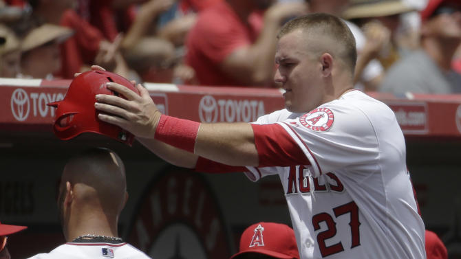 Angels beat Twins 6-4 to finish perfect homestand